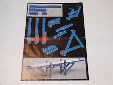 LEGO TECHNIC No 854 GO-KART - SPARE INSTRUCTIONS 1980s