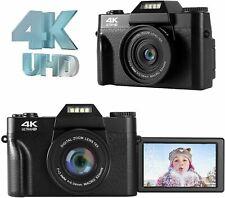 Digital Camera 4K Vlogging Camera 48MP Compact Digital Camera With 16X Digital