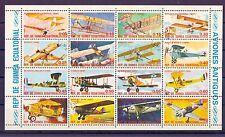 Äquatorialguinea - KB Fluggeräte, Flugzeuge Lilienthal Wright Lindbergh