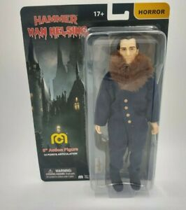 "Hammer Van Helsing 8"" MEGO Action Figure Horror Peter Cushing dracula vampire"