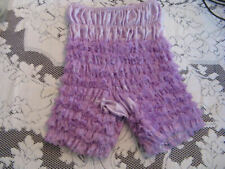 Vintage Ruffle Bloomers SAMS Square Dance Pettipant LAVENDER  M