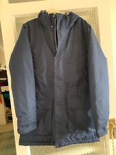 Craghoppers Hombres Aquadry aislado cálido abrigo azul en pequeñas gran condición