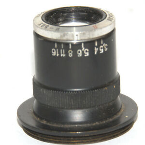 Industar-50U( 3.5/50mm) Enlarger lens with screw M39 KOMZ RARE Early type