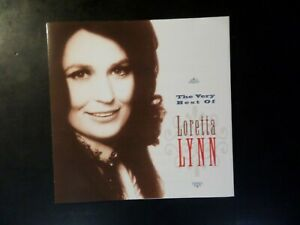 CD ALBUM - LORETTA LYNN - THE VERY BEST OF