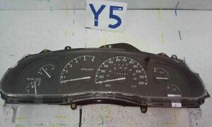 2000-01 Ford EXPLORER Speedometer Cluster 4 Door Excluding Sport Trac MPH