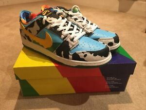Ben And Jerry's Sb Dunk Low Chunky Dunky Size UK 10 Brand New (Replicas)