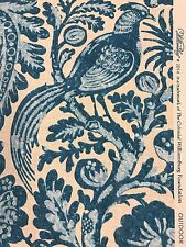 Waverly Tucker Resist porcelain blue print sns outdoor fabric by the yard
