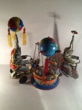 Elephants and Ferris Wheel Vintage  Tin Toys U.S. Zone & Western Germany