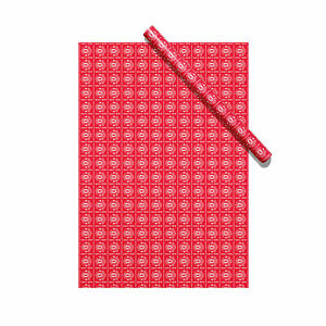 Manchester United Christmas Gift Wrap Football Sport