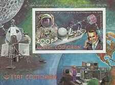 Timbre Communications Bateaux Cosmos Comores BF5D ** lot 20025