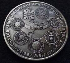 FVEY Five Eyes Intel FELEG CIA NSA DNI MI6 GCHQ DIA NRO FBI SIS Challenge Coin