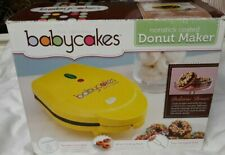 Babycakes Nonstick Coated Donut Maker Machine Backing Kitchen Cooking