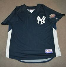 New York Yankees AUTHENTIC Majestic Cool Base BP Jersey XL 2009 World Series
