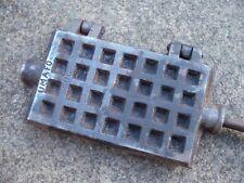 Antique Vintage Cast Iron Belgian waffle iron ...1920's