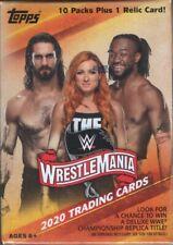 2020 Topps WrestleMania Wrestling Trading Cards Retail Blaster Box