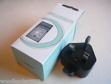 Camera Battery AC+Car Charger For Samsung SLB-0837B C37