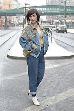 Damen Jeans Jacke Berlin Mode Prenzlauer Berg jacket 80er True VINTAGE 80´s DDR