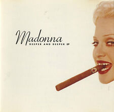 "Madonna 6 TRACK REMIX CD ""DEEPER & DEEPER"""