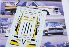 "DECAL CALCA 1/43 FIAT 131 ABARTH GR. 5 ""SEAT"" S. CAÑELLAS CAMP. ESP. TURISMOS 80"