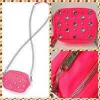 Victoria's Secret Pink Cross Body Bag messenger Bag Purse Rhinestones