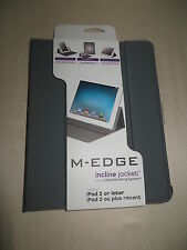 M-Edge Incline Jacket  I Pad 2,3  NIB Gray iPad 2