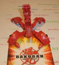 Bakugan Metalfencer Red Pyrus New Vestroia Trap & cards