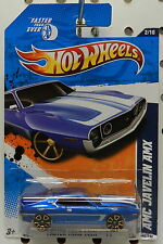 JAVELIN AMX 1971 72 BLUE 142 2011 AMC HW HOT WHEELS