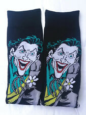 1 Pairs Mens Cotton Socks MARVEL COMICS The Joker Casual Dress Black Socks