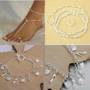 Olbye Knot Toe Ring Anklet Celtic Knot Silver Ankle Chain Bracelet Celtic Jewelry Bare Foot Sandal Anklets 1Pcs