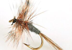 10 X QUALITY MINI /& LONGSHANK LURES MUDDLERS #10 FISHING FLIES AQUASTRONG 098
