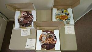 Royal Doulton cats Collection plates