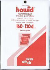 hawid  2203  Blockstreifen 160x120d glasklar