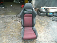 2006-2011 HONDA CIVIC TYPE R FN2 PASSENGER SIDE FRONT BUCKET SEAT