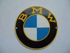 BMW - Garage Dealership - Porcelain Enamel Metal Advertising Sign / Shield
