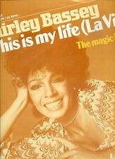 SHIRLEY BASSEY this is my life 12INCH 45 RPM EX