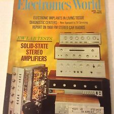 Electronics World Magazine EW Lab Tests  Solid State Amps June 1968 071917nonrh