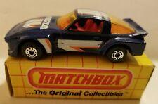 Matchbox Nib. 1982 Mb 06 Imsa Mazda - Blue. C21#53dr