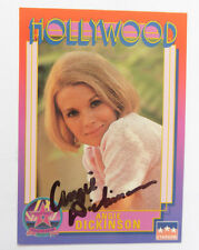 ANGIE DICKINSON  Signed Hollywood Walk of Fame Card #3