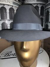 Borsalino Sorrento Men's Hat Made In Italy Size 57. 7 1/8
