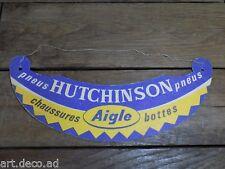 Visière Publicitaire chaussures Bottes AIGLE shoes Tires Hutchison vintage 1950'