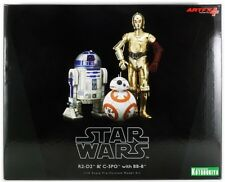 KOTOBUKIYA STAR WARS  - C-3PO & R2-D2 WITH BB-8  ART FX+ STATUE - NEU/OVP