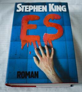 Stephen King - ES - Deutsche gebundene Erstausgabe 1986