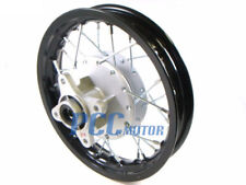 "10"" REAR ALUM RIM WHEEL DRUM BRAKE HONDA XR50 CRF50 STOCK PIT BIKE I RM02K"