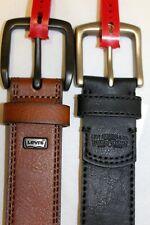 Size: L, XL LEVIS brand new, BLACK, TAN Strauss mans Leather Belts Style 11LV220