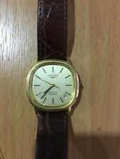 18 carat gold Longines Automatic Flagship