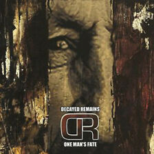 Decayed Remains - One mans fate CD (CDN, 2000) canadian Death Metal