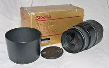 Sigma APO 70-300mm f4-5.6 D AF Macro Zoom Lens For Nikon
