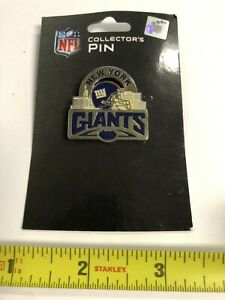 NEW YORK GIANTS COLLECTOR'S METAL HAT LAPEL PIN BY SISKIYOU FREE SHIP