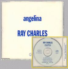 "RAY CHARLES "" ANGELINA "" CD's NUOVO PERFETTO !  1995  PROMOTIONAL COPY ITALY"