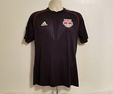 New York Red Bull MLS Soccer Jersey USA Adidas Adult Blue Medium